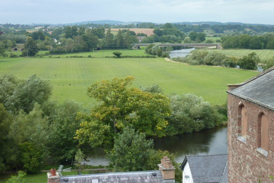 Ross-on-Wye, UK: View from our room