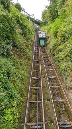Lynmouth, UK: Cliff Railway