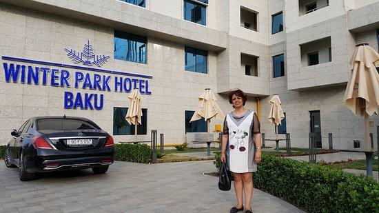 The Front Of Winter Park Hotel Baku Azerbaijan