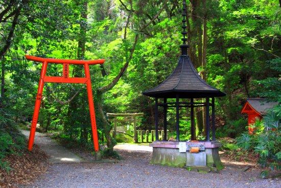 Miyakonojo, Japan: 木漏れ日の境内