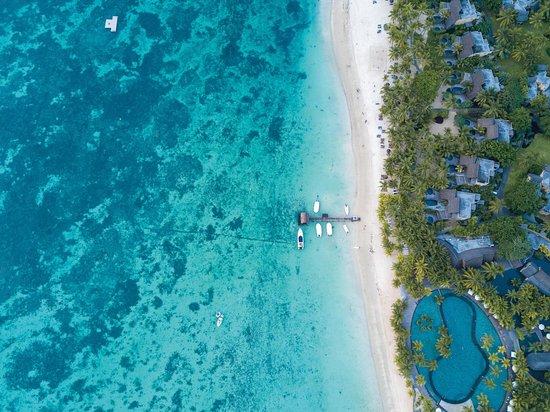 Trou aux Biches Beachcomber Golf Resort & Spa: Aerial view