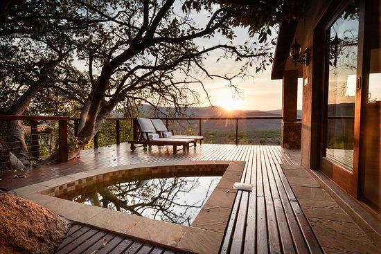 White River, แอฟริกาใต้: Hampton Presidential Suite Plunge Pool