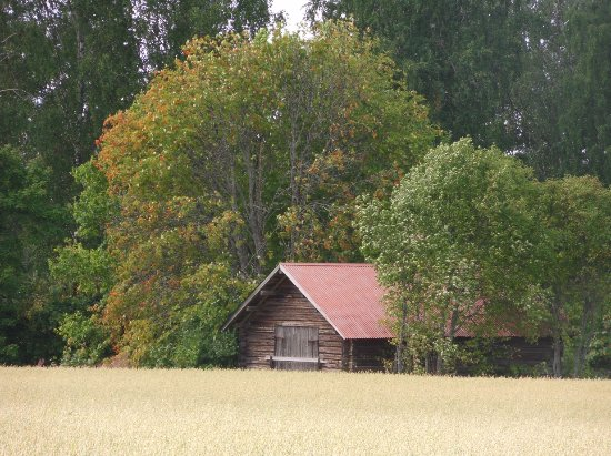 Kouvola, Finlandia: The old barn