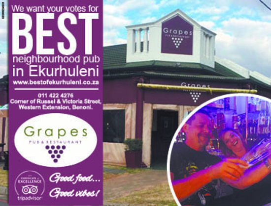 Benoni, Republika Południowej Afryki: https://bestofekurhuleni.co.za/ please vote for us as best neighbourhood pub Category ..& be Mer