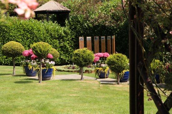 Bromyard, UK: 1 of the gardens