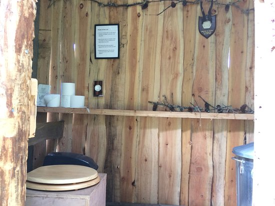 Camping Composting Toilet : The hideaway composting toilet picture of bamff garden camping