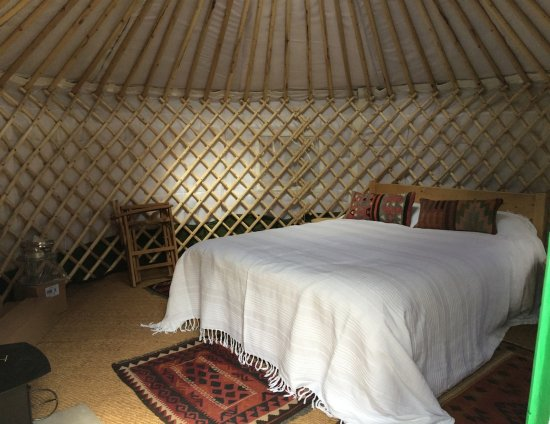 Alyth, UK: The South Yurt - double bed