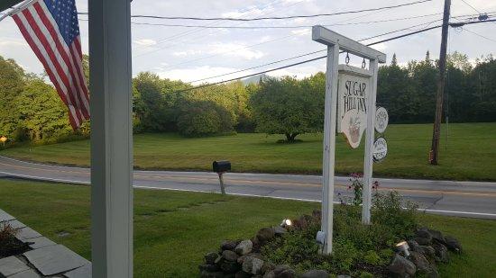 Front porch of Sugar Hill Inn