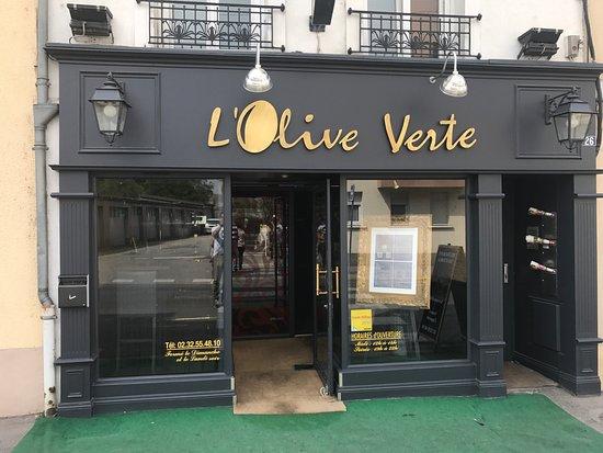 L\'Olive Verte à Gisors - Bild von Olive Verte, Gisors ...
