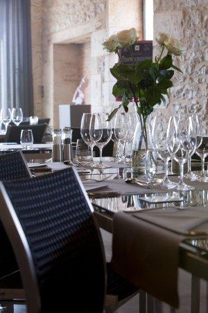 Château de Haute-Serre : Table de Haute-Serre, BIB Gourmand au Guide Michelin