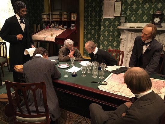 Lincoln And His War Cabinet Picture Of Abraham Lincoln Presidential Library And Museum Springfield Tripadvisor
