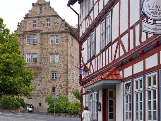Eschwege, Germany: Blick aufs Schloss