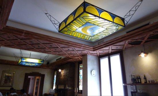 Plafoniere Per Ristoranti : Lampadario a plafoniera in vetro veneziano foto di ristorante al