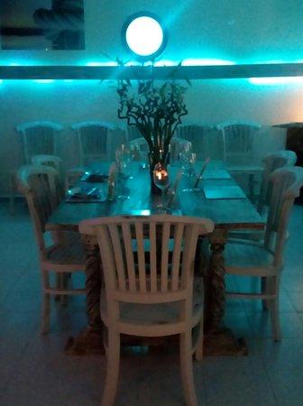 Restaurante Sa Gavina Mediterraneo Oriental: Interior detail