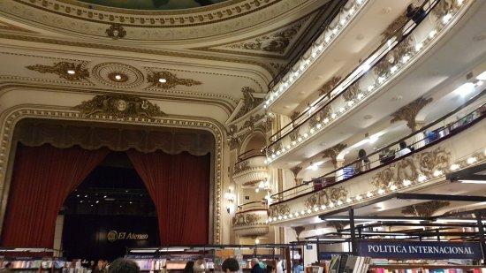 El Ateneo Grand Splendid: DETALLE DE LIBRERIA