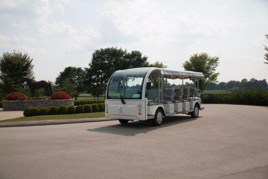 Versailles, KY: See the farm on the WinStar Shuttle Tour!