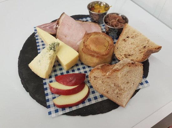 Crook, UK : Our popular Ploughmans for one