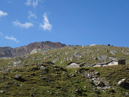 Valsavarenche, Italie : salendo al col Lauson