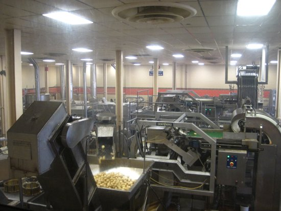 Hanover, Пенсильвания: The factory floor