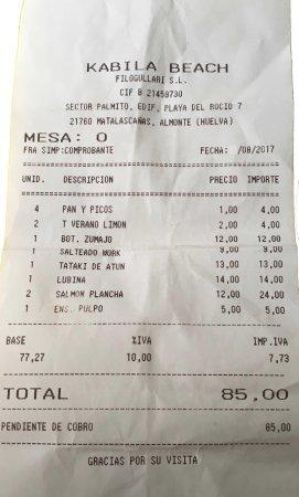 Provincia de Huelva, España: la cuenta. rapida y concisa