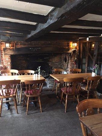 Pett, UK: Breakfast room