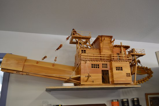 Sumpter, Όρεγκον: A model of the Dredge in the Interpretive Center