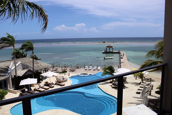 Zoetry Montego Bay Jamaica: Having breakfast on my balcony (sigh)