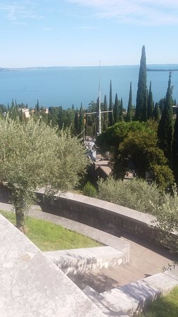 Il Vittoriale degli Italiani: Vista dall'alto