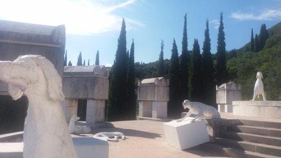 Il Vittoriale degli Italiani: Vista dall' alto