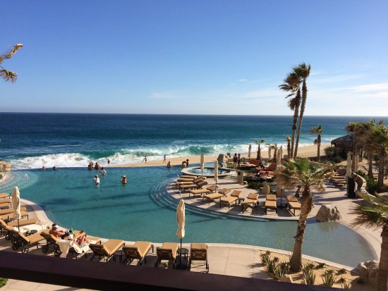 """Grand Solmar Land's End Resort & Spa : View from 2nd Story Building """"B"""" What a beautiful view."""