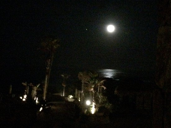 Grand Solmar Land's End Resort & Spa : Early Morning of our Departure. Beautiful CABO Moon.