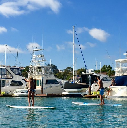 DANA POINT HARBOR, CA!  A Great Place to Paddle Board!