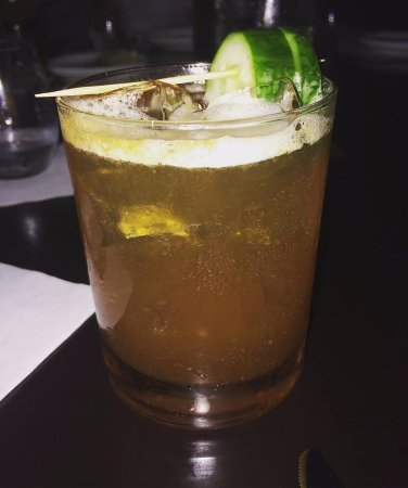 Janesville, WI: Pimmp's Cup cocktail
