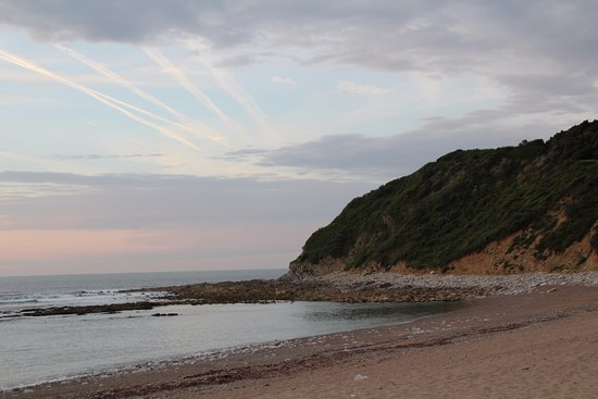 Camping Ferme Erromardie : zeegezicht