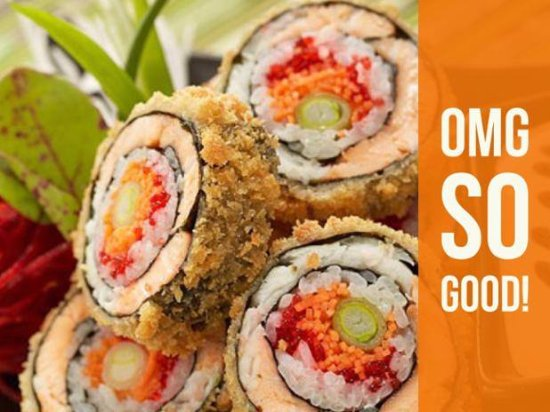 Norcross, GA: Chrispy Spicy Salmon Roll.. Hungry??