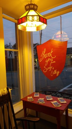 Pictou, Canadá: ground floor looby Thank you for staying with us