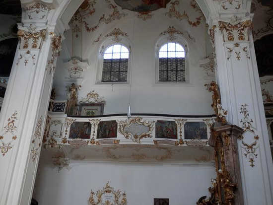 Andechs, Germany: Interior of church