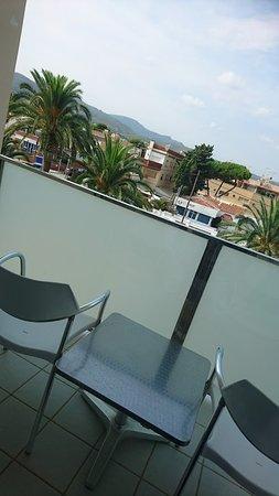 Bel Air Hotel: balcone