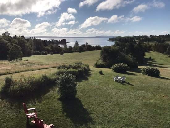 Chester, Canadá: View from the porch at Gray Gables