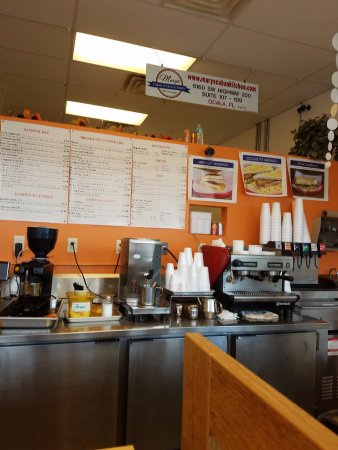 Bill Lewis Of Cooper City Visiting Mary S Cuban Kitchen In Ocala Florida Picture Of Mary S Cuban Kitchen And Bakery Ocala Tripadvisor