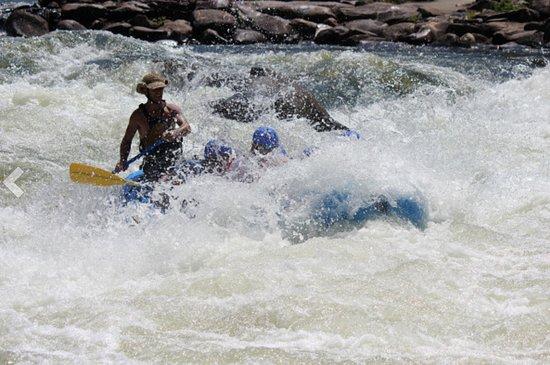 Carolina Ocoee: Into the water