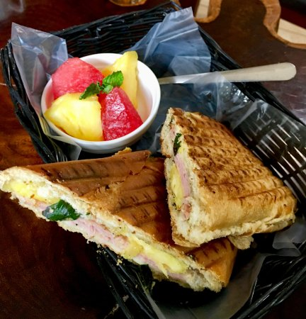 Java 654 Coffee Shop : Hawaiian Panini