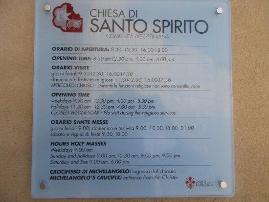 Eglise Santo Spirito : Informazioni