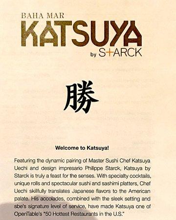 Baha Mar Katsuya By S Arck Menu Picture Of Katsuya Baha