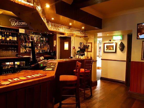 Hyde, UK: Bar.