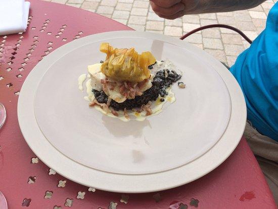 Au Bon Accueil: A fish dish....