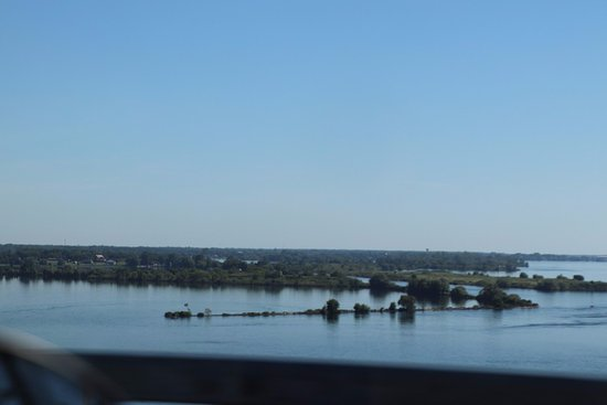 Ogdensburg, Estado de Nueva York: Some islands seen from the bridge