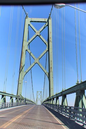 The Ogdensburg-Prescott International Bridge