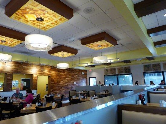 Butterfield's Pancake House: waffle lights
