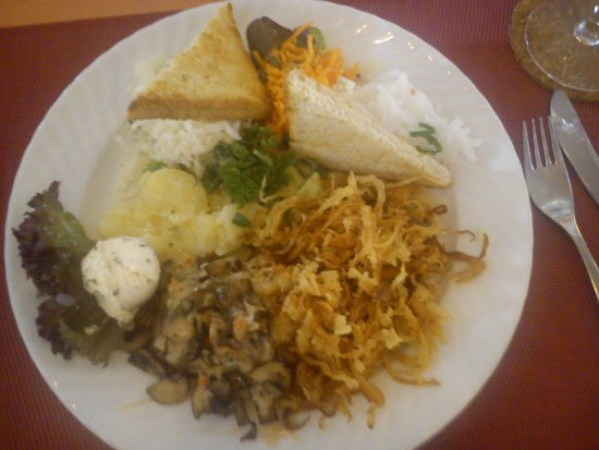 Hotel Schoenblick: Haustoast mit extra Zwiebeln